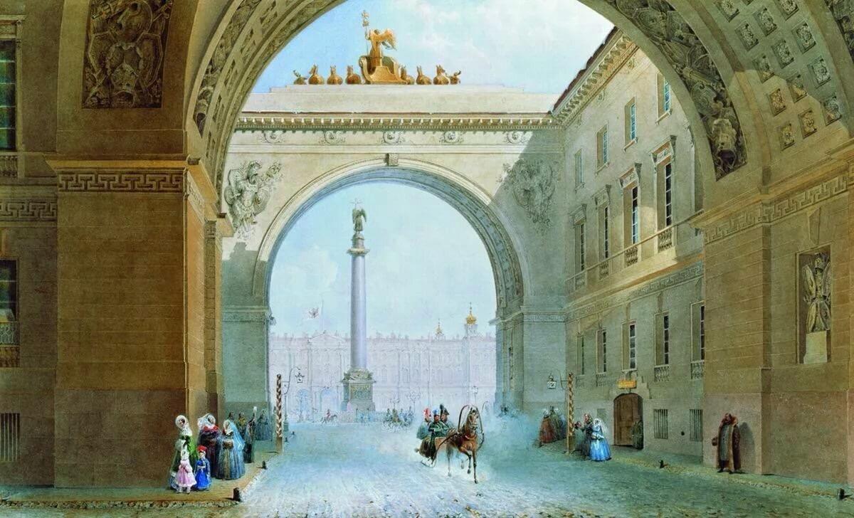 Экскурсия по площадям Петербурга