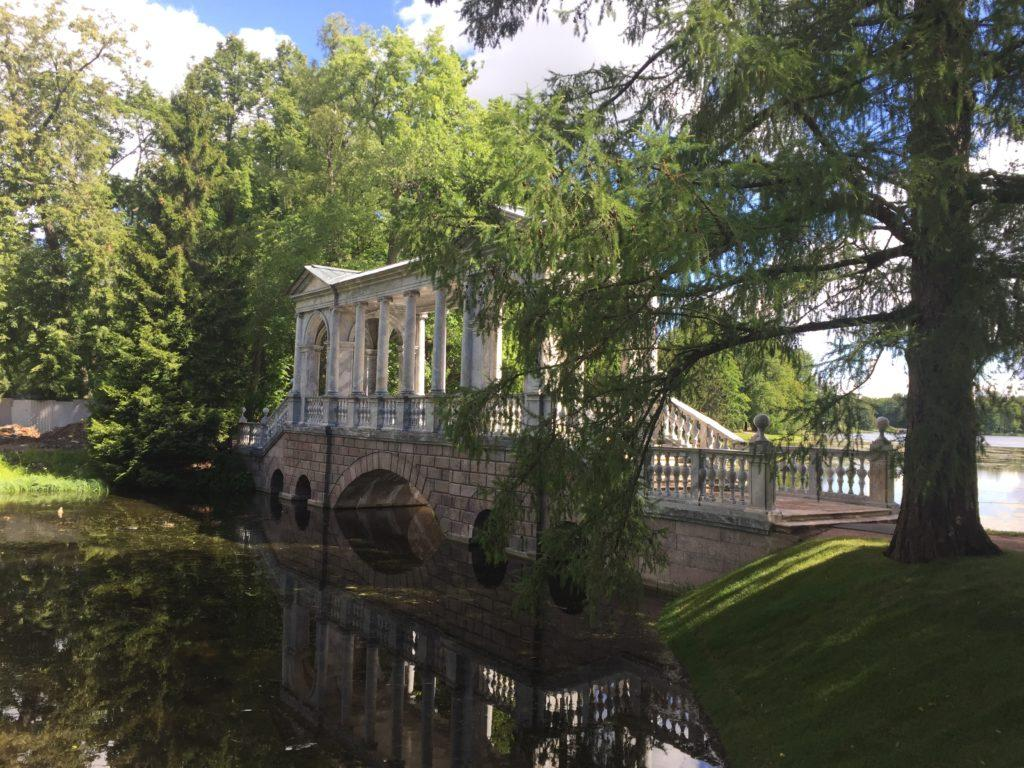 экскурсия в царское село. Мраморный мост.