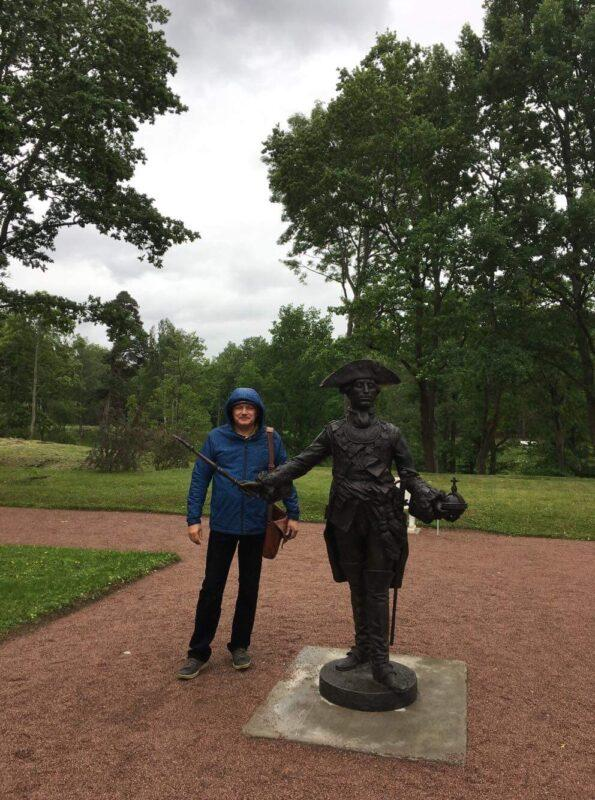 экскурсия в Ораниенбаум