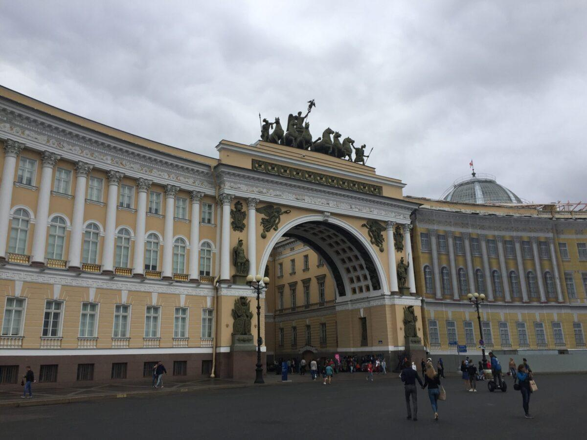 Экскурсия по Петербургу