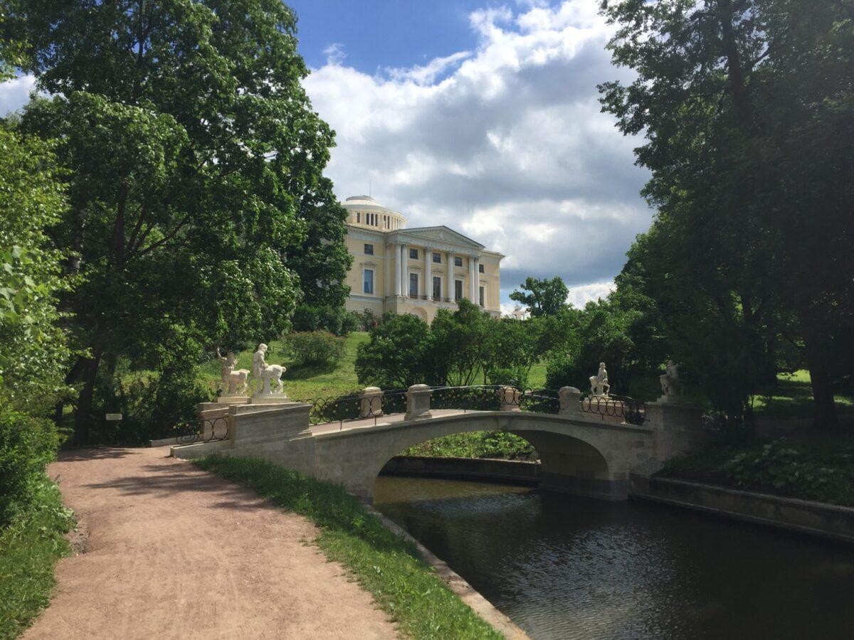 Экскурсия в Павловск