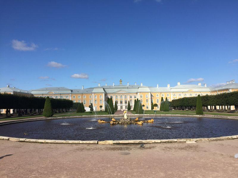 Экскурсия в Петергоф. Нижний и Верхний парки