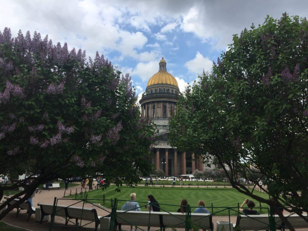 экскурсия по главным площадям петербурга