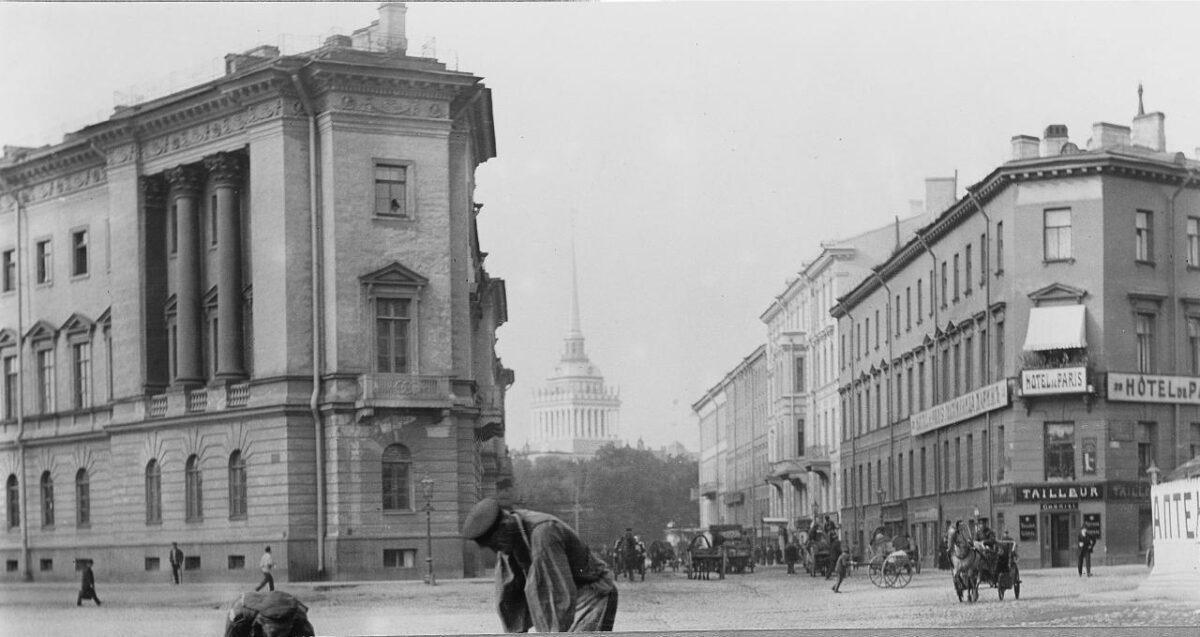 исаакиевская площадь санкт петербург